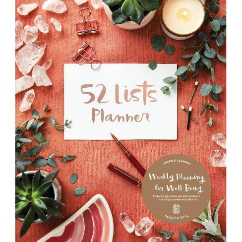 52 Lists Planner By Moorea Seal Paperback