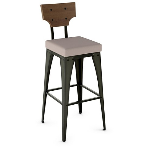 "Rally 27"" Counter Stool Steel - Amisco - image 1 of 2"