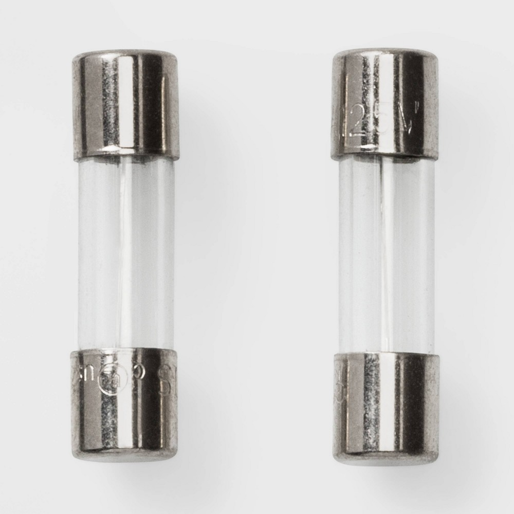 Image of 2ct Five Amp Fuse Replacements - Wondershop , Clear