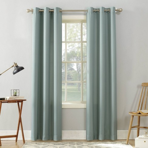 Sora Casual Textured Light Filtering Grommet Top Curtain Panel - No. 918 - image 1 of 4