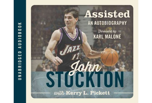 Assisted : An Autobiography (Unabridged) (CD/Spoken Word) (John Stockton) - image 1 of 1