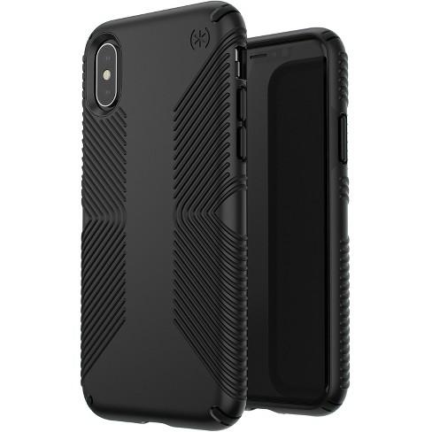 timeless design 165c5 485c2 Speck Apple iPhone X/XS Presidio Grip Case - Black
