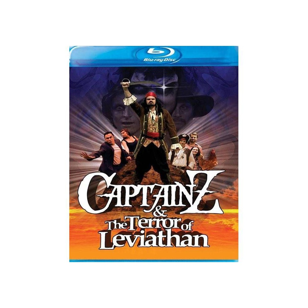 Captain Z And The Terror Of Leviathan Blu Ray 2017