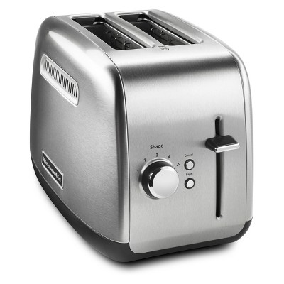 KitchenAid 2 Slice Toaster - Brushed Stainless Steel KMT2115SX