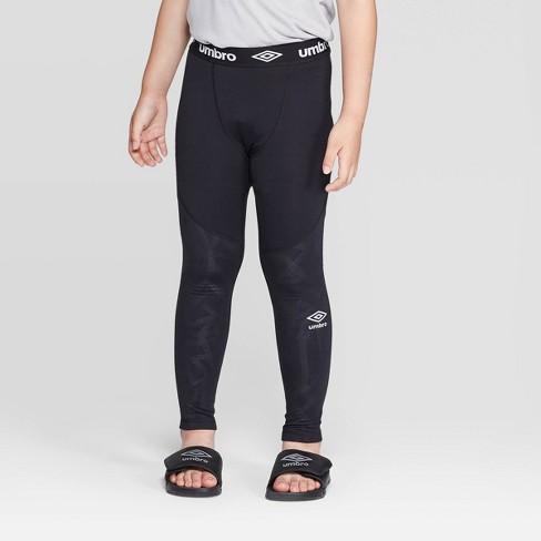 Umbro Boys' Compression Leggings - Black - image 1 of 3