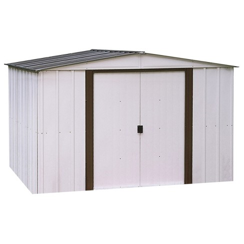 Newburgh Steel Storage Shed 10' X 8' - Arrow Storage Products - image 1 of 2