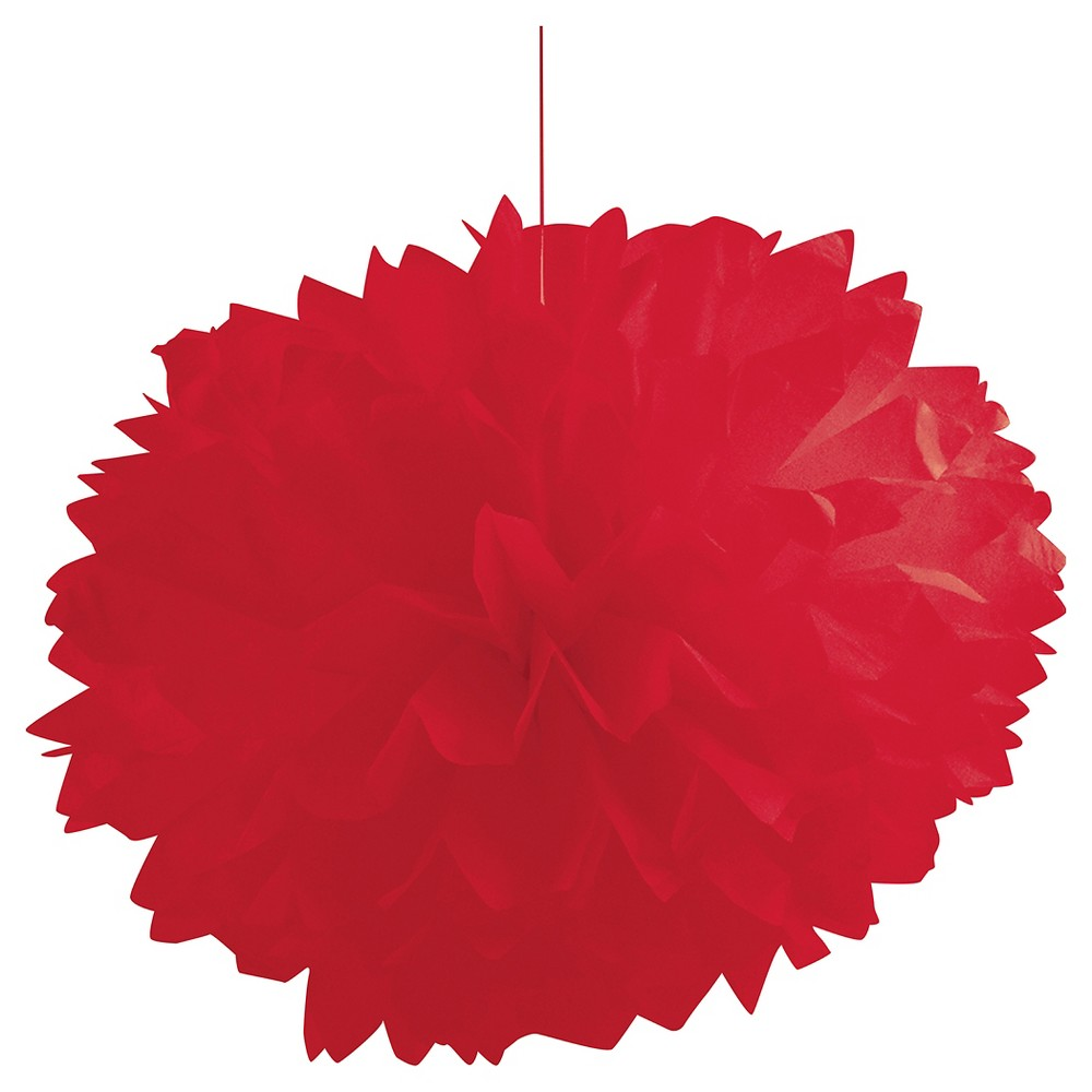 Classic Red 16 Tissue Balls - 3 Pack