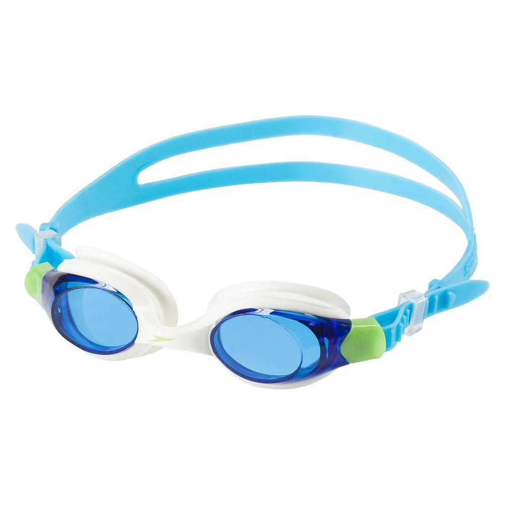 Speedo Kids Scuba Giggles Goggle - White/Blue, White Blue