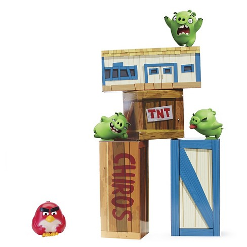 Angry Birds - Vinyl Knockout Playset - image 1 of 4