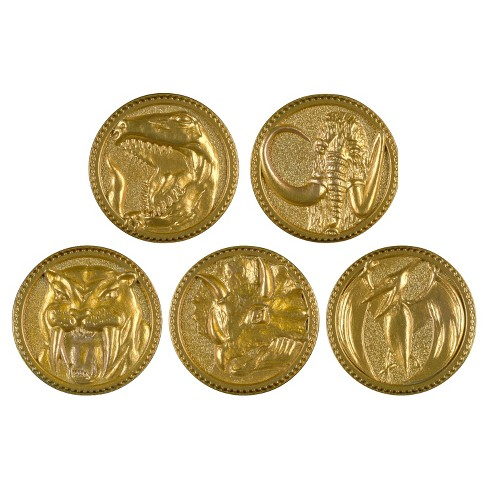 Power Rangers Legacy Mighty Morphin Movie Die Cast Coin Set - image 1 of 4
