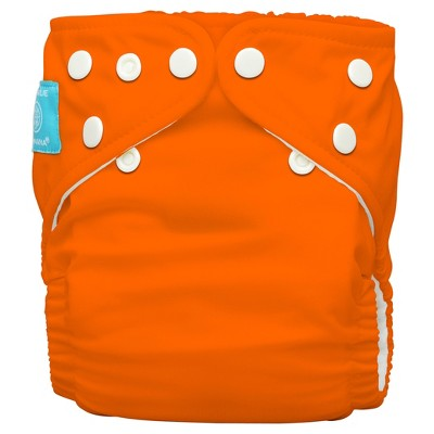 Charlie Banana ® All-in-One Reusable Diaper 1 pack, One Size - Orange