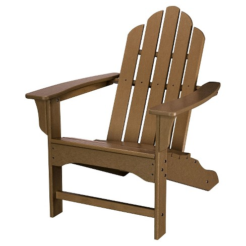 Hanover Outdoor All-Weather Adirondack Chair - Teak - image 1 of 2