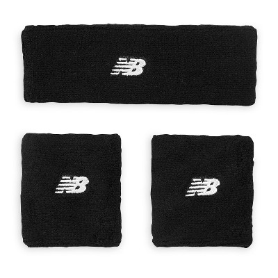 New Balance Sweatband 3pc - Black