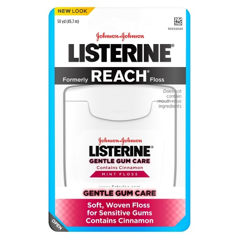 Listerine® Gentle Mint Gum Care Interdental Floss Oral Care - 50yd - image 1 of 3