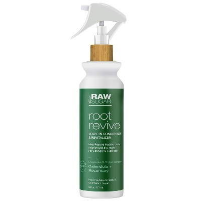 Raw Sugar Calendula and Rosemary Root Revive Leave-in Conditioner & Revitalizer - 6 fl oz