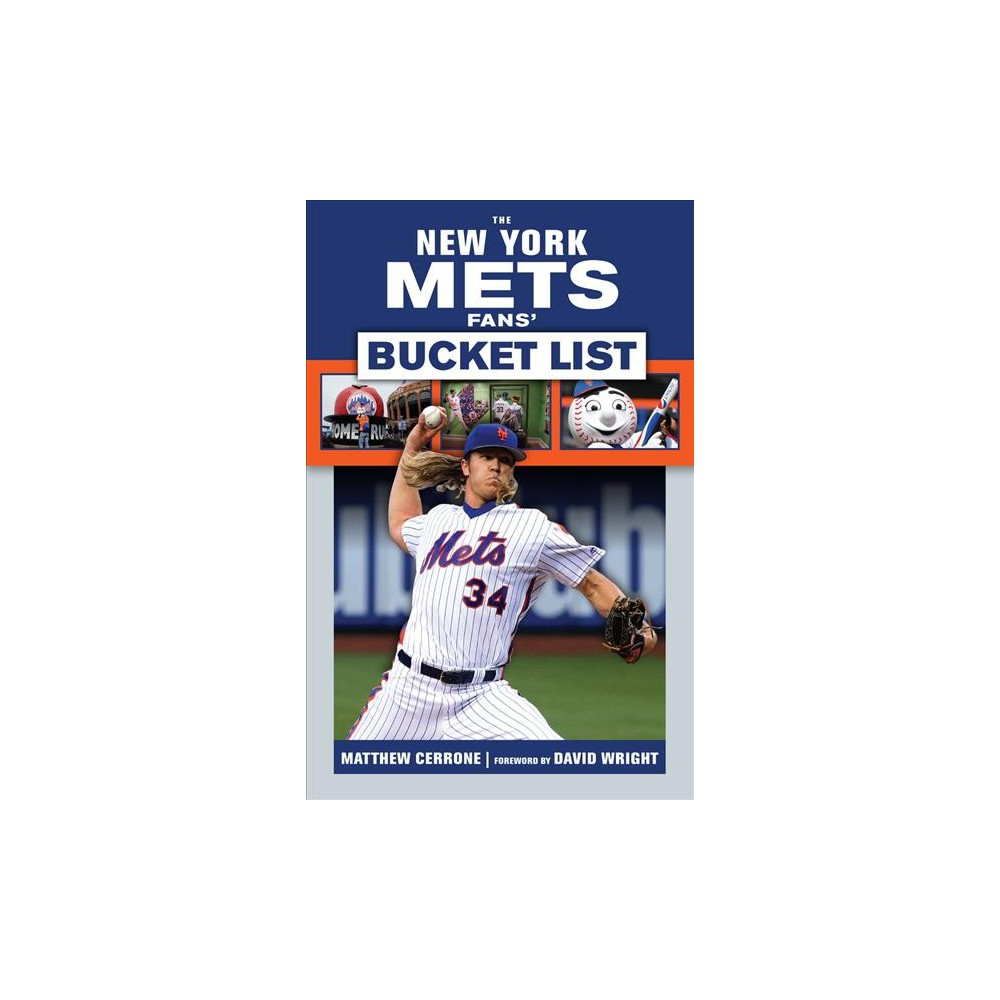 New York Mets Fans' Bucket List (Paperback) (Matt Cerrone)