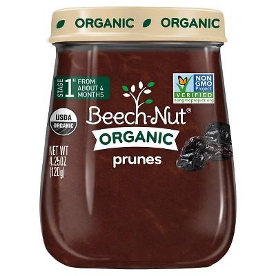 Beech-Nut Organic Prunes - 4.25oz