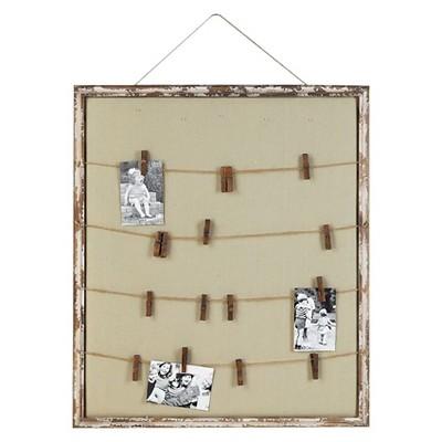 Wood Memo Holder (28 x32 )- 3R Studios