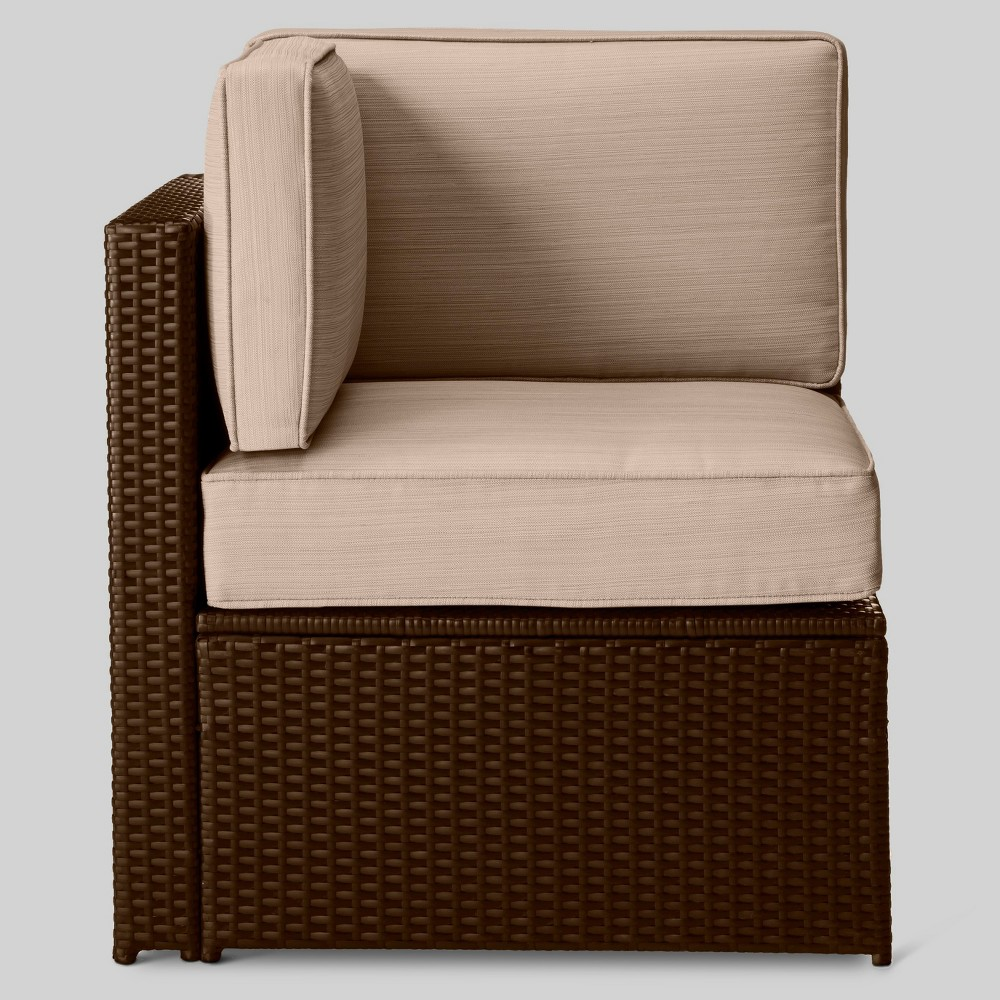 Sedona All Weather Wicker Patio Sectional Corner Chair - Project 62