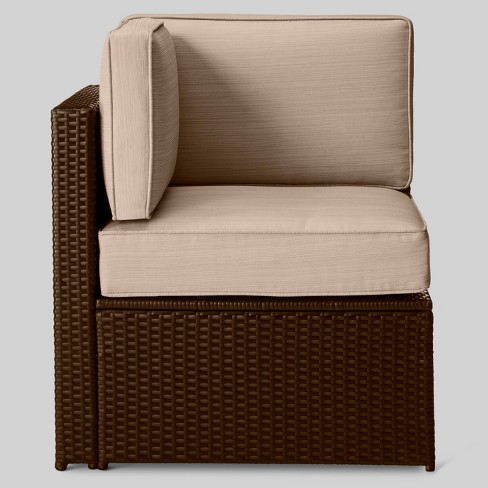 Sedona All Weather Wicker Patio Sectional Corner Chair Project 62 Target