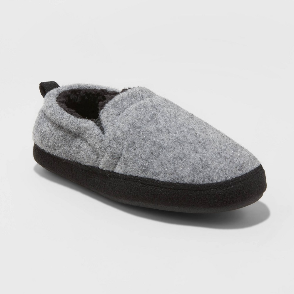 Image of Boys' Grayton Slippers - Cat & Jack Gray S(13-1), Size: Small (13-1)