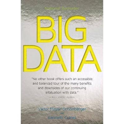 Big Data - by  Viktor Mayer-Schönberger & Kenneth Cukier (Paperback)