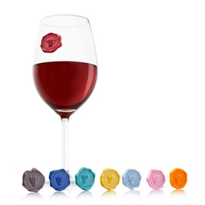 Vacu Vin Wine Glass Markers