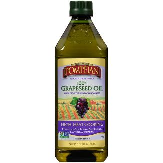 Pompeian 100% Grapeseed Oil - 24oz