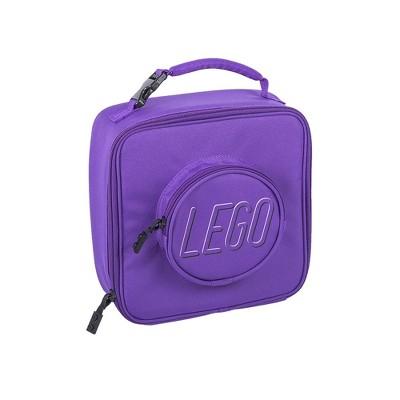 LEGO Brick Lunch Bag - Purple