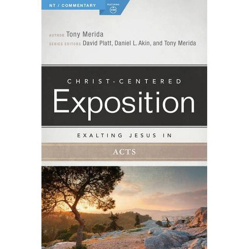 Exalting Jesus in Acts - (Christ-Centered Exposition Commentary) by  Tony Merida (Paperback) - image 1 of 1