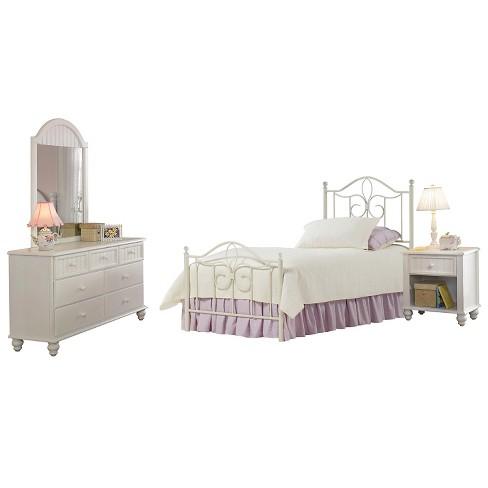 Kids Bedroom Set White Hilale Furniture