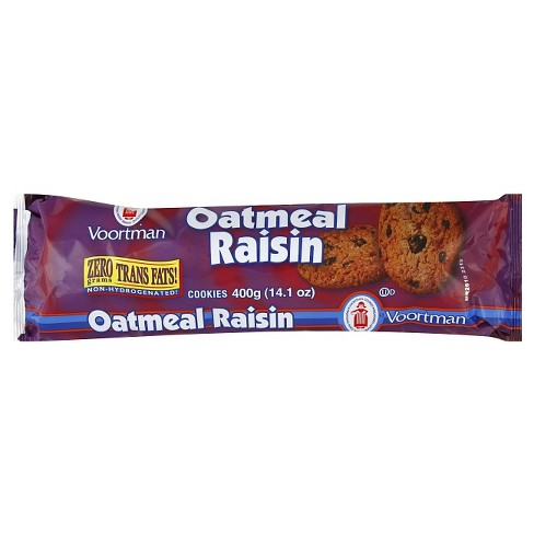 Voortman Oatmeal Raisin Cookies - 14.1 oz - image 1 of 4