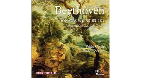 Pablo Casals - Beethoven:Complete Works For Cello & (CD) - image 1 of 1