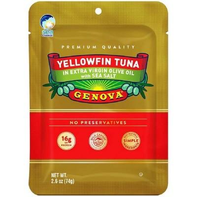 Yellowfin Tuna in Olive Oil Pouch - 2.6oz