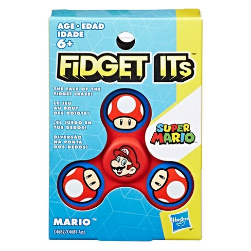 Fidget Its Nintendo Mario Graphic Spinner - image 1 of 9