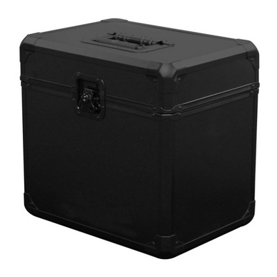 Odyssey Black Krom 12 Inch 70 Record Capacity Utility LP Vinyl Transport Case