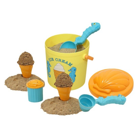 Melissa & Doug Sunny Patch Speck Seahorse Sand Ice Cream Play Set image number null