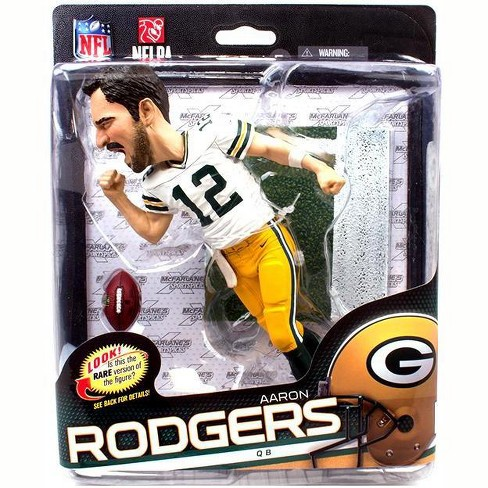 McFarlane Toys NFL Green Bay Packers Sports Picks Series 34 Aaron Rodgers Collector Level Action Figure [Big Head] - image 1 of 1