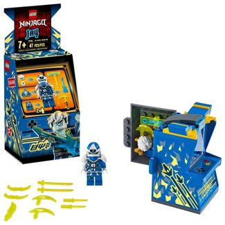LEGO NINJAGO Jay Avatar - Arcade Pod Mini Arcade Machine Building Set 71715