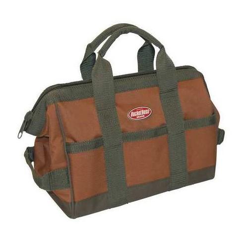 "BUCKET BOSS 60012 Tool Bag,16 Pocket,12"" x 7"" x 9"", Double Wall 600 Poly - image 1 of 1"