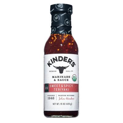 Kinder's Organic Sweet & Spicy Marinade 13oz