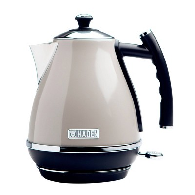 Haden Cotswold 1.7L Stainless Steel Electric Kettle - Beige