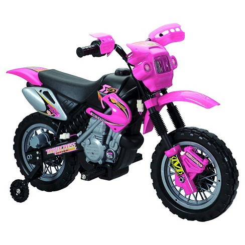 Fun Wheels 6V Battery Operated Motorbike Pink - image 1 of 1