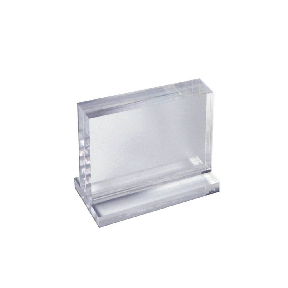 Azar Displays 5 X 7 Deluxe Vertical Acrylic Block Stand