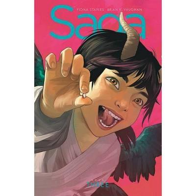 Saga Book Three - by  Brian K Vaughan (Hardcover)