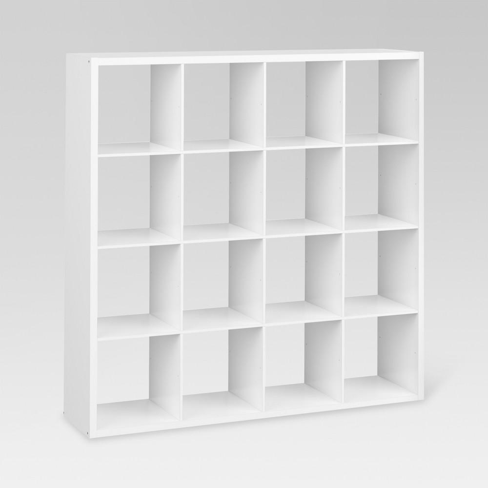 13 34 16 Cube Organizer Shelf White Threshold 8482