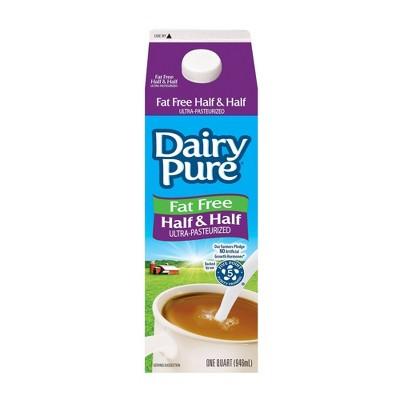 Dairy Brand Fat Free Half & Half - 1qt