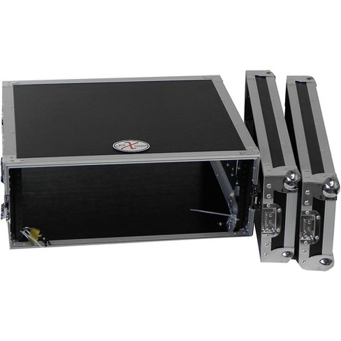 """ProX X-4UE 4U Deluxe Effects Rack 14"""" Deep Rail to Rail with Handles - image 1 of 4"""