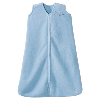 HALO® Sleepsack® Micro-Fleece Wearable Blanket - Baby Blue - M
