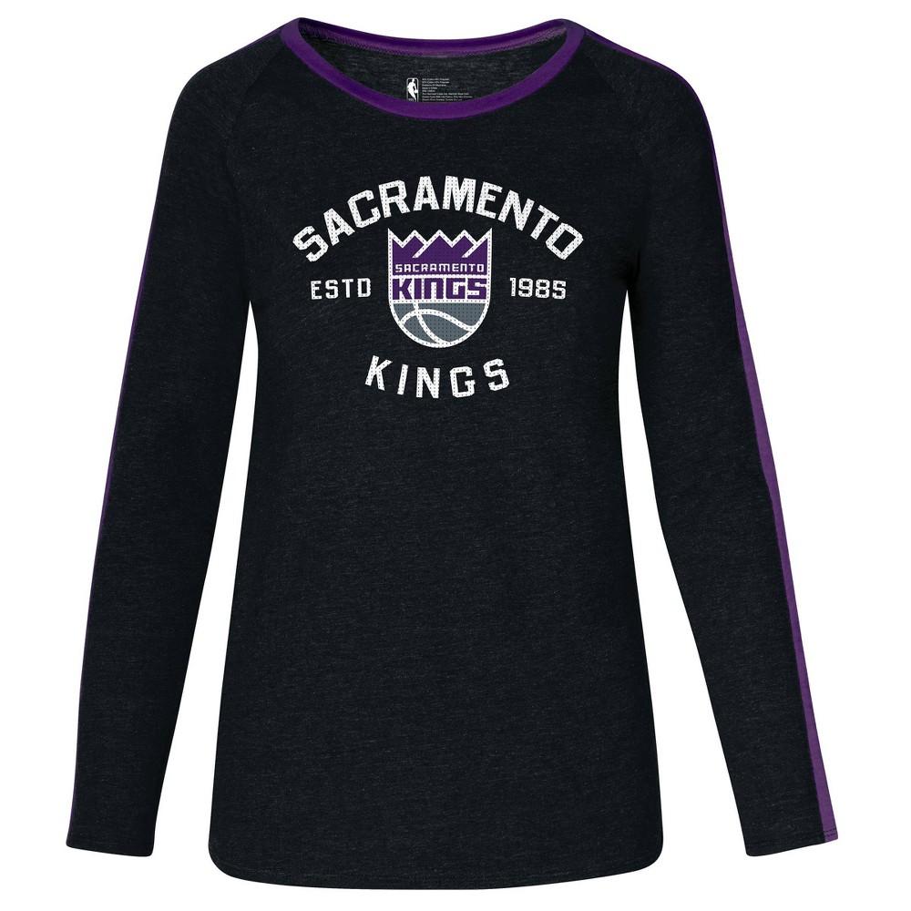 Nba Sacramento Kings Women 39 S Team Shoulder Stripe Sweatshirt M
